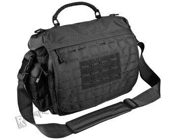 torba na ramię TACTICAL PARACORD BAG duża, czarna