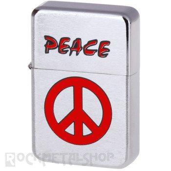 zapalniczka benzynowa PEACE RED
