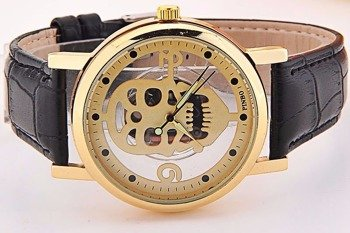 zegarek GOLD SKULL