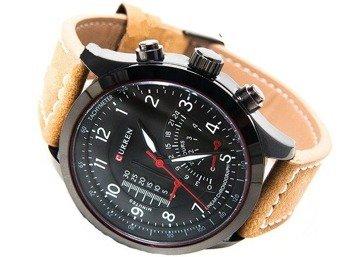 zegarek MILITARY BLACK