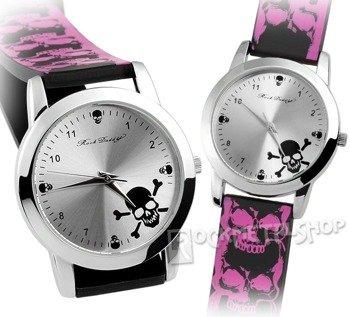 zegarek ROCK DADDY - SKULL PINK