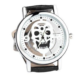 zegarek WHITE SKULL