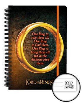 zeszyt LORD OF THE RINGS - ONE RING