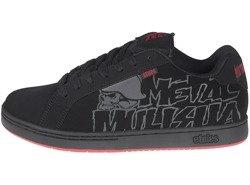 buty ETNIES - METAL MULISHA FADER BLACK BLACK RED