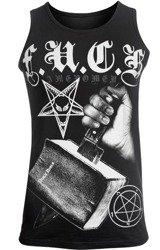 koszulka na ramiączkach AMENOMEN - F.U.C.K (OMEN103KR)