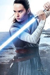 plakat STAR WARS - REY ENGAGE