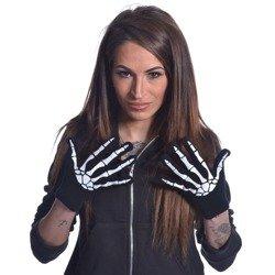 rękawiczki POIZEN INDUSTRIES - BLACK WHITE