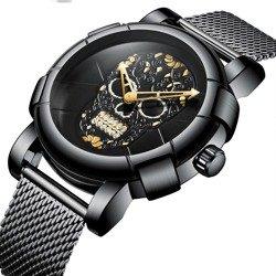 zegarek BLACK SKULL BLACK GOLD