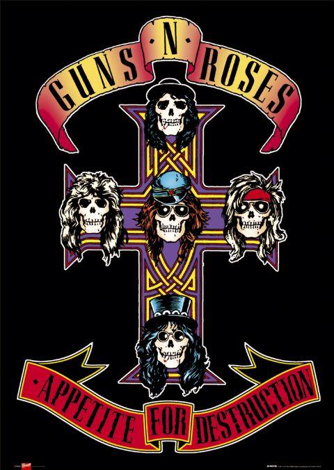 Plakat Guns N Roses Appetite For Destruction Sklep
