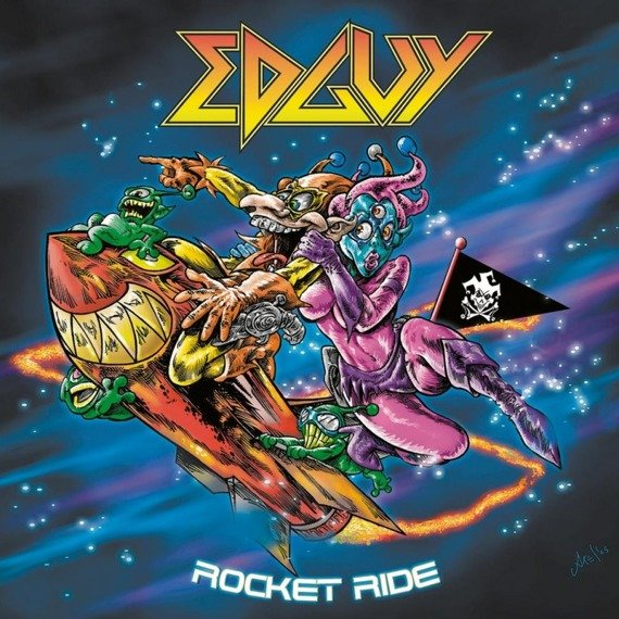 EDGUY: ROCKET RIDE (CD)