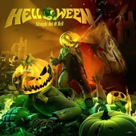 HELLOWEEN: STRAIGHT OUT OF HELL (LP VINYL)