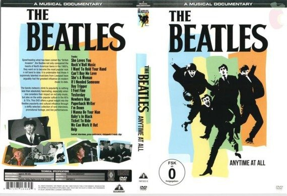 THE BEATLES: ANYTIME AT ALL (DVD)
