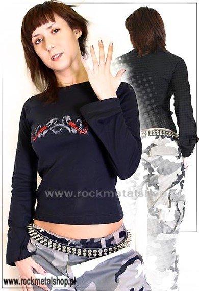 bluzka damska DRAGONS rękawy rozszerzane