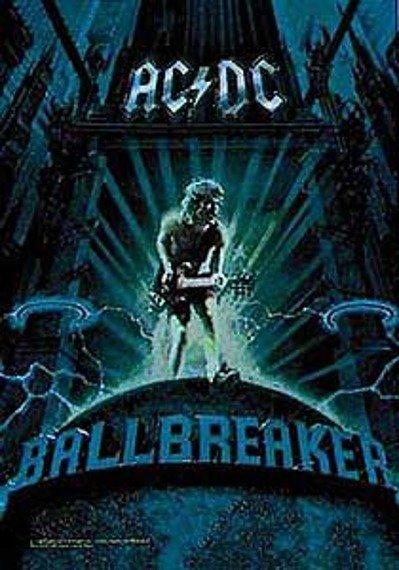 """flaga AC/DC """"BALLBREAKER"""""""