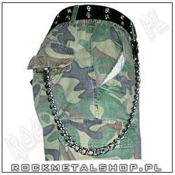 gruby łańcuch do kluczy/portfela (30 cm) z karabińczykiem NR 1