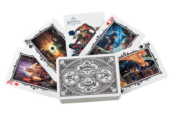 karty do gry ALCHEMY WHITE ARCANA [CARD2] Alchemy Gothic