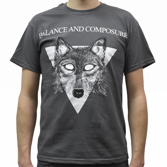 koszulka BALANCE AND COMPOSURE - WOLF