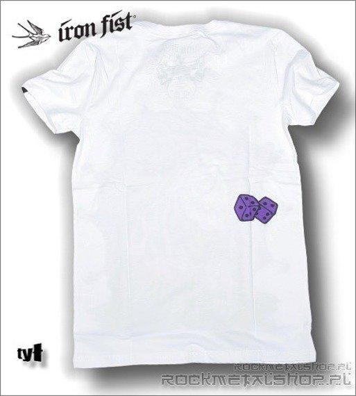 koszulka IRON FIST '09 (Blood or Crypts) (White)