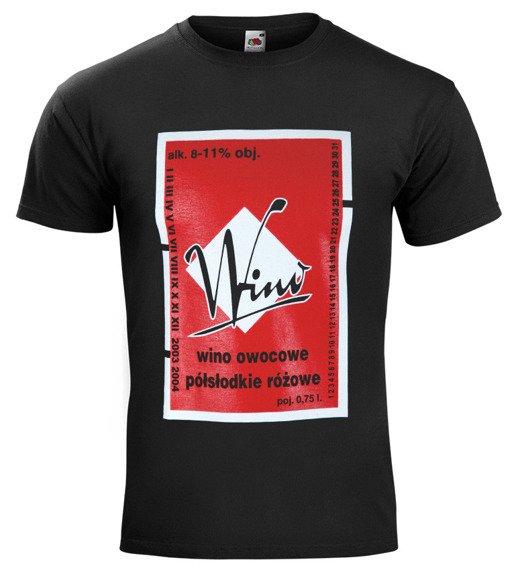 koszulka WINO OWOCOWE PÓŁSŁODKIE RÓŻOWE