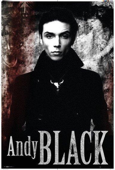 plakat BLACK VEIL BRIDES - ANDY BLACK