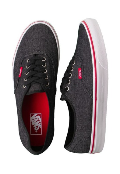 trampki VANS  - AUTHENTIC (DENIM/BLACK/TRUE WHITE)