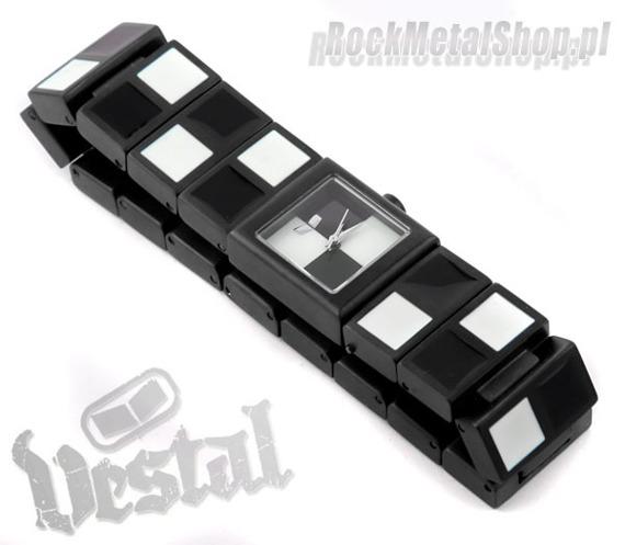 zegarek CHECK - black/white firma VESTAL (CHK002)