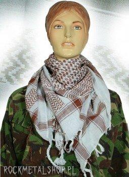 Arafatka  czekoladowo-biała