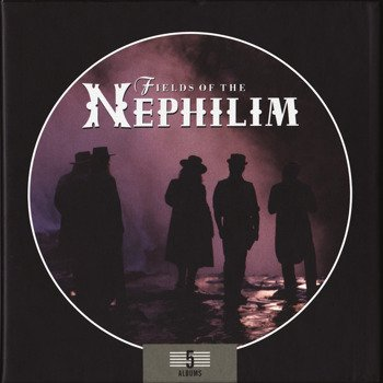 FIELDS OF THE NEPHILIM: 5 ALBUMS (5CD)