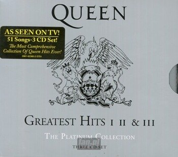 QUEEN: PLATINUM COLLECTION - GREATEST HITS 1/2/3 (3CD)