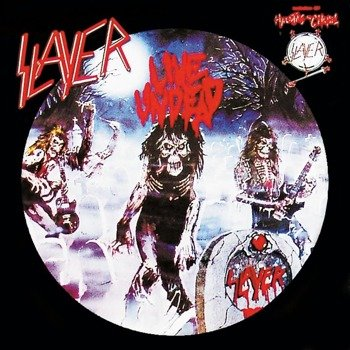 SLAYER:  LIVE UNDEAD / HAUNTING THE CHAPEL  (LP VINYL)