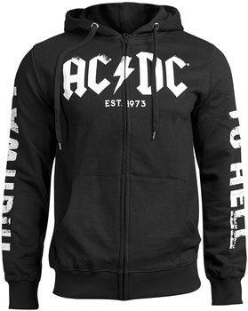 bluza AC/DC - EST 1973, rozpinana z kapturem
