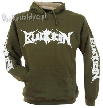 bluza BLACK ICON - SCOOBY kangurka z kapturem (BICON008OLV)
