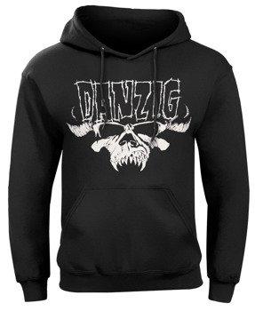bluza DANZIG - CLASSIC LOGO, kangurka z kapturem
