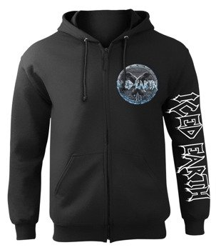 bluza ICED EARTH - 30TH ANNIVERSARY, rozpinana z kapturem