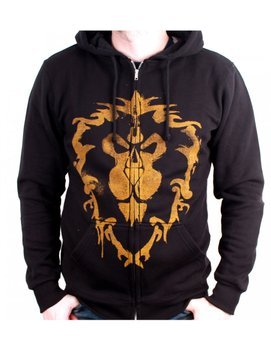 bluza WARCRAFT - ALLIANCE SPRAY, rozpinana z kapturem