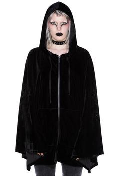 bluza damska KILLSTAR - ECLIPSE, rozpinana z kapturem