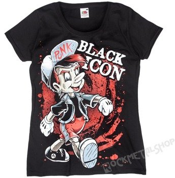 bluzka damska BLACK ICON - PINO PUNK (DICON125 BLACK)