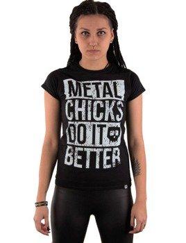 bluzka damska METAL CHICKS DO IT BETTER