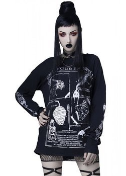 bluzka damska ROGUE - HEX YOUR EX SPELL, longsleeve