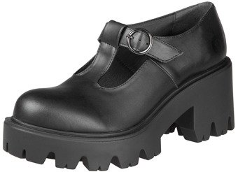 botki damskie ALTERCORE czarne (MARY VEGAN BLACK)