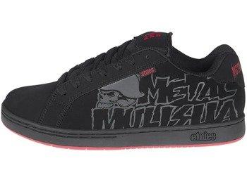 3d1a736fa4 buty METAL MULISHA - ETNIES FADER BLACK BLACK RED