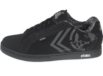 buty METAL MULISHA - ETNIES FADER BLACK WHITE