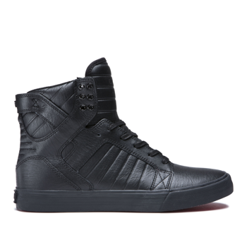 buty SUPRA - SKYTOP BLACK BLACK RED
