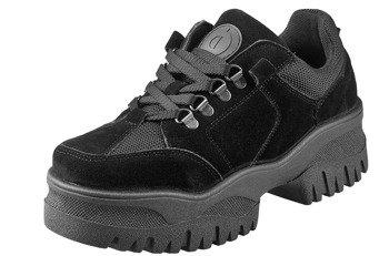 buty damskie ALTERCORE czarne (POSH MICROFIBRA BLACK)