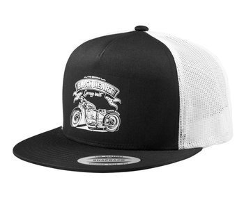 czapka BLACK HEART - JAWA 350