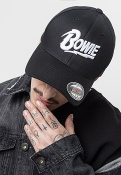 czapka DAVID BOWIE FLEXFIT - LOGO
