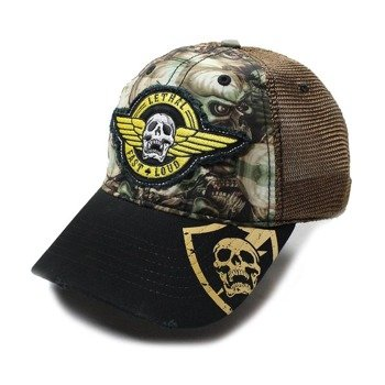 czapka LETHAL THREAT - ARMY SKULL CAMO