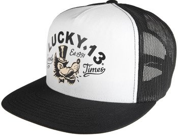 czapka LUCKY 13  - THE MR. WOLF TRUCKER