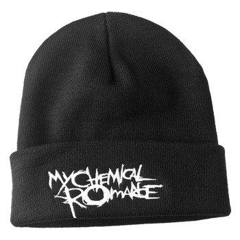 czapka MY CHEMICAL ROMANCE - THE BLACK PARADE LOGO, zimowa