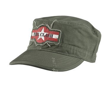 czapka patrolówka THE CLASH - STAR LOGO